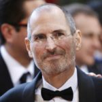 File photo of Apple CEO Steve Jobs arriving at the 82nd Academy Awards in Hollywood