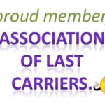 Proud Member, Association of Last Carriers