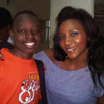 "Genevieve Nnaji And Her ""Son"""