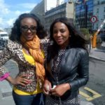 Ini Edo and Genevieve Nnaji