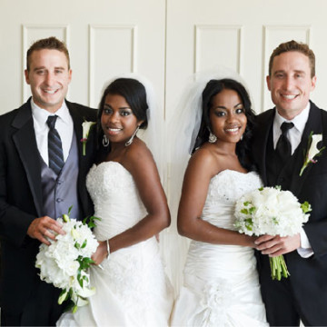 Twin Sisters Marry Twin Brothers