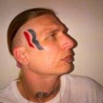 So This Guy With The Romney Tattoo On His Face …