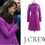 Malia Obama in J.Crew