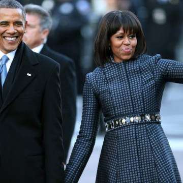 It Was Barack's Inauguration, But Michelle Stole The Show!