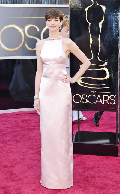 Anne Hathaway in Prada
