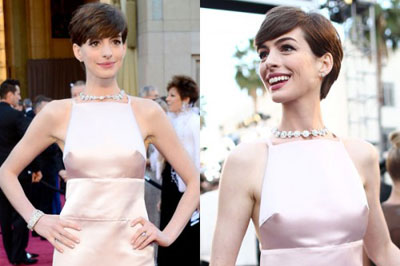 Anne Hathaway's sewn-on nipples