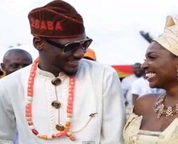 Mr. & Mrs. Idibia looking all kinds of in love