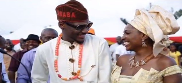 Wedding traditional wedding of 2face amp annie idibia verastic