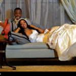 Wedding photo of Porsha and Kordell Stewart