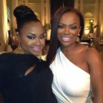 Phaedra Parks & Kandi Burruss at the Real Housewives of Atlanta Reunion