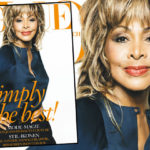 Tina Turner on the cover of Vogue Germany