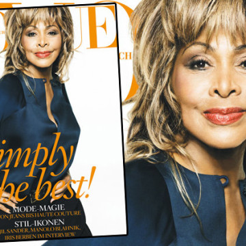 Tina Turner On The Cover Of Vogue