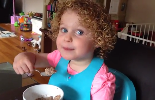 3 Year Old Explains Childbirth