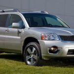 Mitsubishi Endeavor - not Uju's actual car, but it looks exactly like this in a darker color.