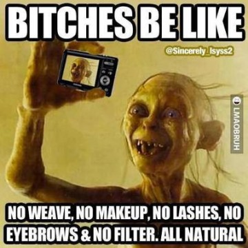 Attention, All You No Filter, Picture-Taking Ladies!