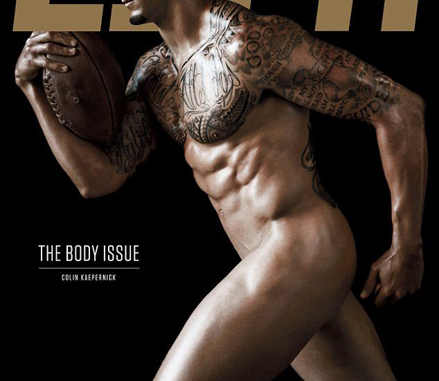 Colin Kaepernick On ESPN Body Issue: Does He Have Too Many Tattoos?