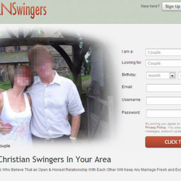 Dear Christian Swingers Website, You're Going To Hell