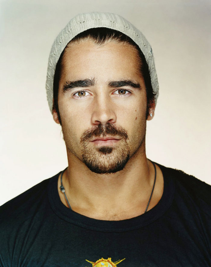 Collin Farrell: Love his versatility. Acting wise. Genre wise. Style wise.