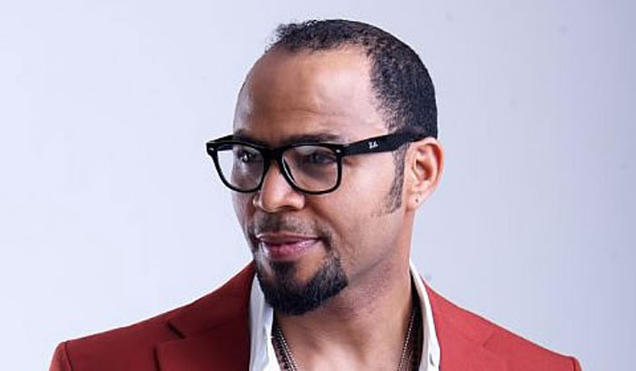 Ramsey Nouah: I don't like this picture of him, but I do like his hair, too.