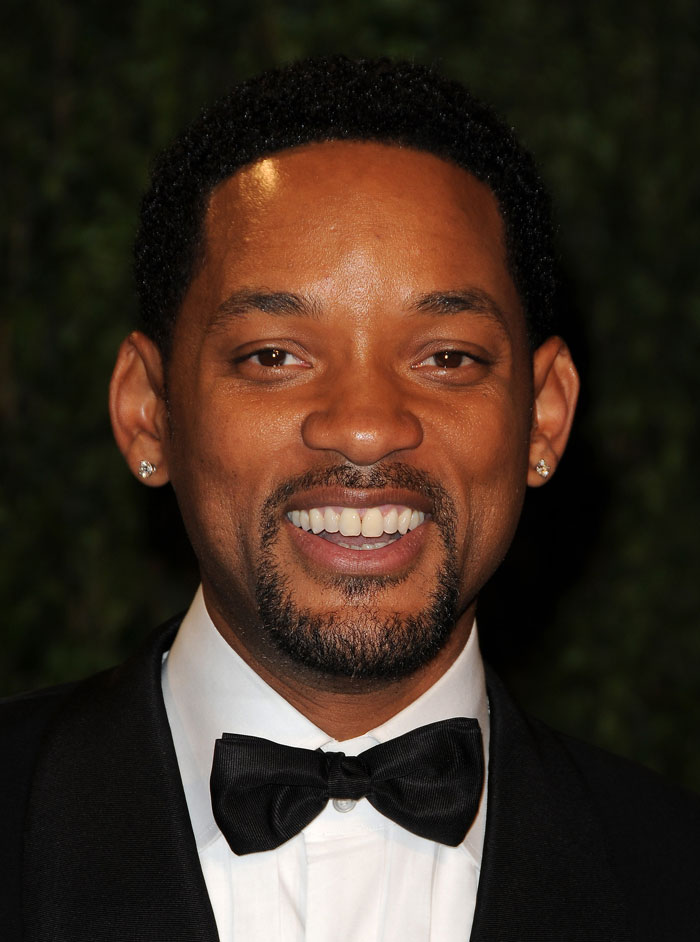 Will Smith: This isn't my favorite picture of him, but I do like him better with hair