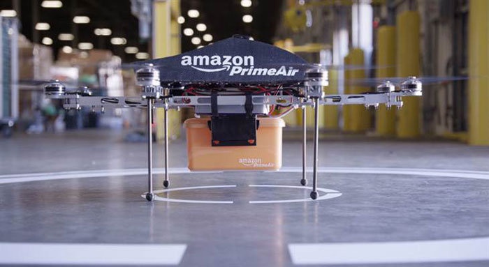 Amazon Drone: Coming to homes near you [Image source: NBC News