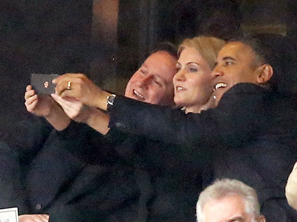 The little Obama selfie that was