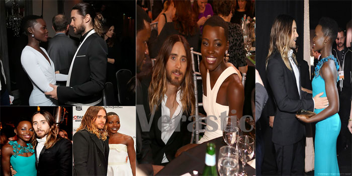 Lupita Nyong'o & Jared Leto: Looking all kinds of good