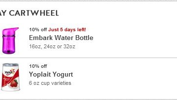 Reason Number 937206048 To Love Target: Cartwheel!