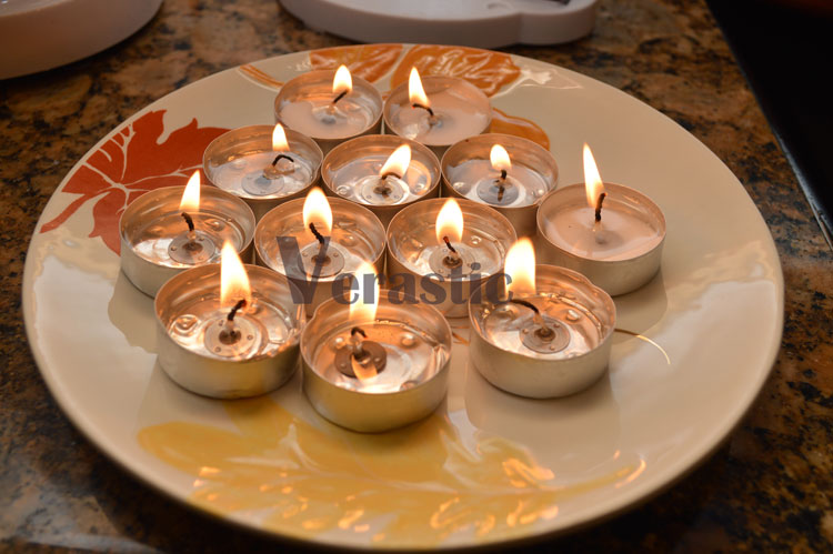 Being Nigerian - Tea light candles