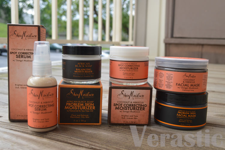 Shea Moisture Facial Products
