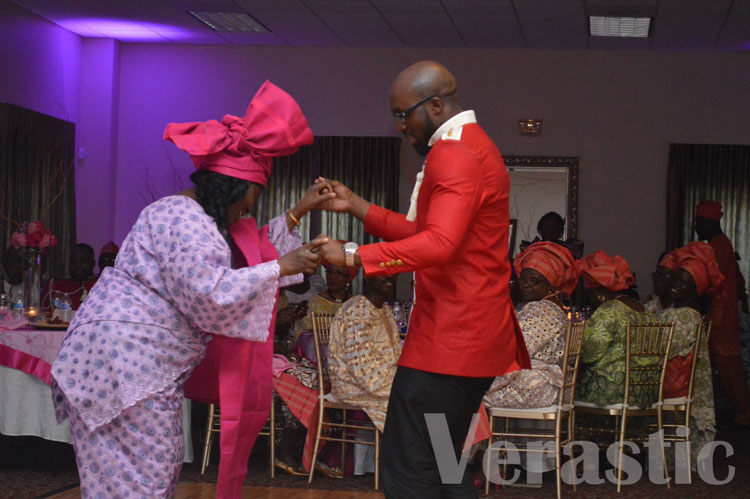 Pelumi dancing with his mom. I cried watching them.