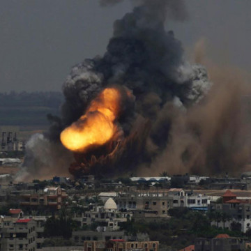 Violence in the Gaza Strip. Image source: NY Daily News