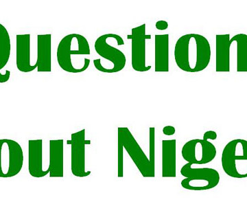 Questions About Nigeria