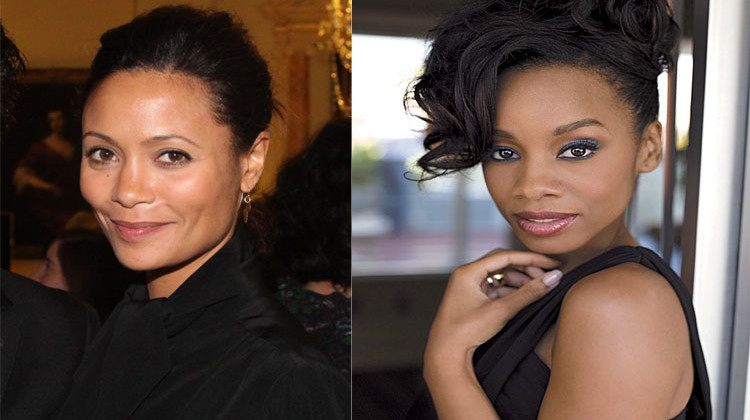 Thandie Newton (41) and Anika Noni Rose (42). Beautiful!