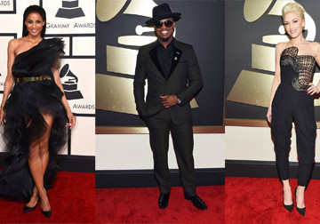 2015 Grammys Red Carpet Fashion