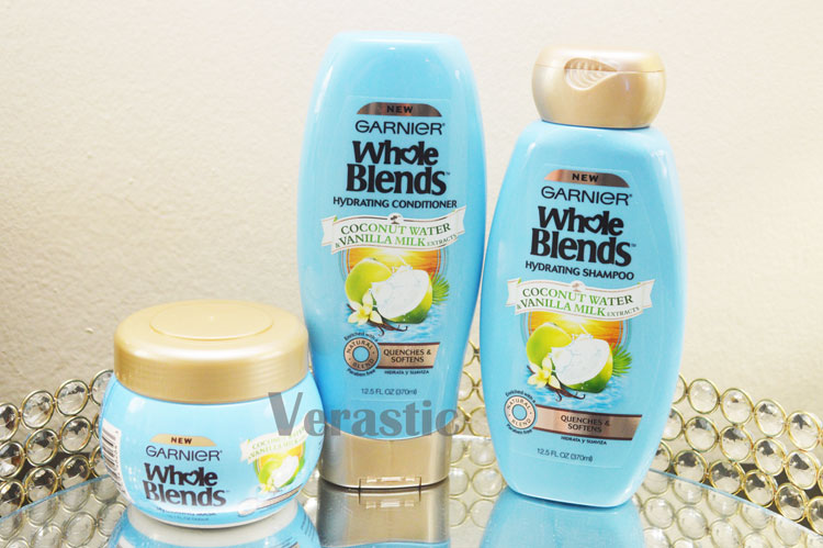 Garnier Whole Blends in Coconut Water & Vanilla Milk Extracts