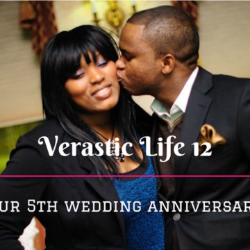 Verastic Life 12: Our 5th Wedding Anniversary