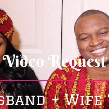 Video: Igwe & I In The Husband + Wife Tag