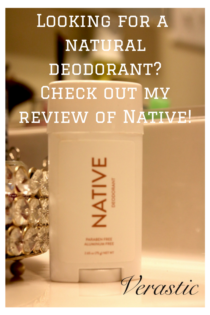 Looking for a natural deodorant that is free of parabens and aluminum? Check out my honest (and unsponsored) review of Native, a natural deodorant