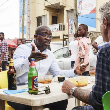ANTHONY BOURDAIN IN LAGOS