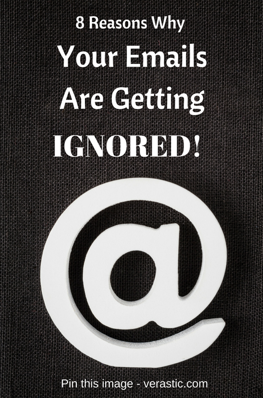 your emails are being ignored
