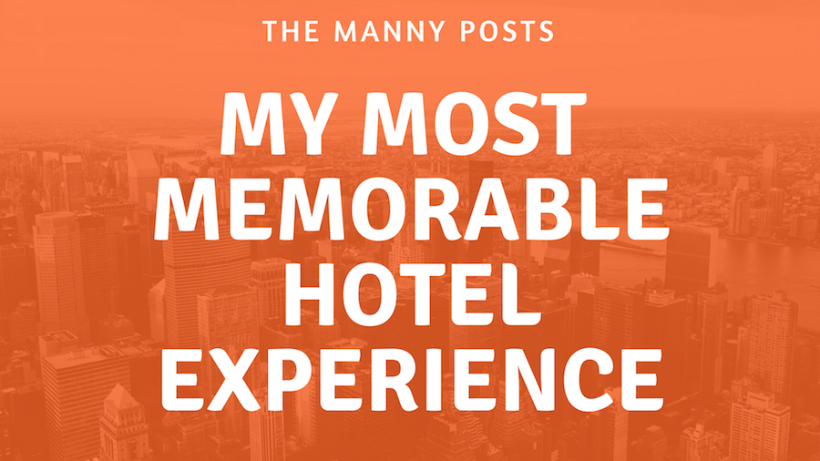 a memorable experience
